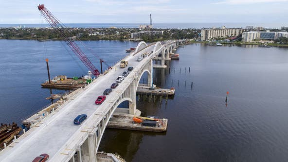 $46 million Veteran's Memorial Bridge opens in Daytona Beach with procession to honor fallen military