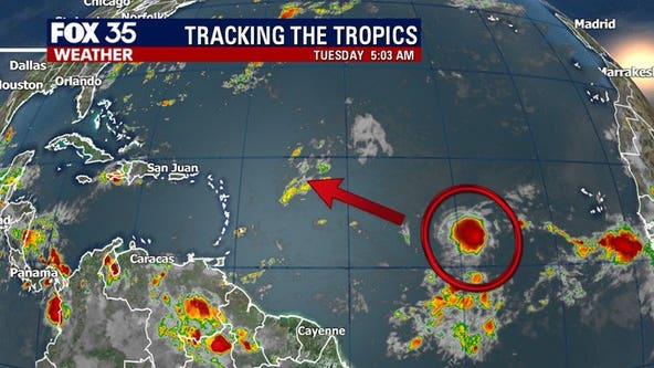 TROPICS: A tropical wave has a 90% chance of development