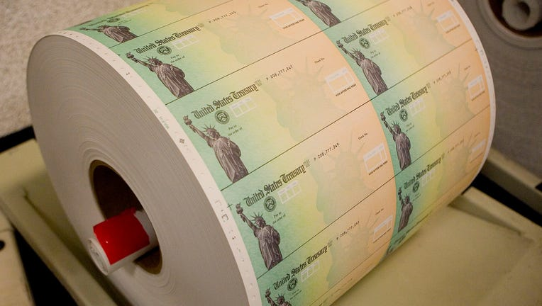 b212e58e-Economic Stimulus Package Tax Rebate Checks Printed