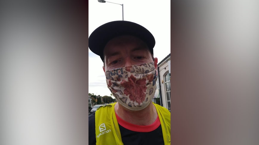 ICU doctor runs 22 miles while wearing mask to prove it doesn't drop oxygen levels