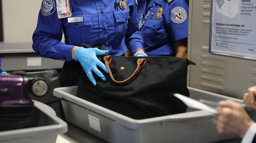 Air traffic is down, gun seizures up at US airports