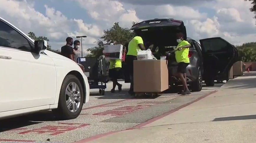 Extra precautions taken on UCF move-in day to keep students safe