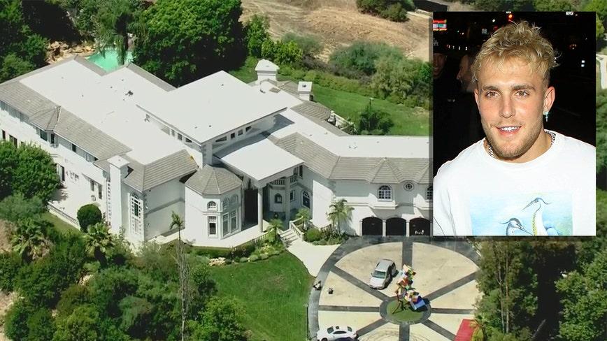FBI raids YouTube star Jake Paul's home in Calabasas