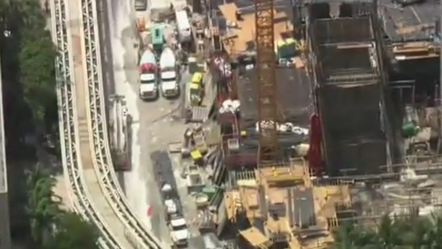 Report: 5 construction workers transported after partial building collapse in Miami