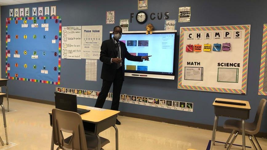 Orange County Public Schools prepare for Monday reopening online