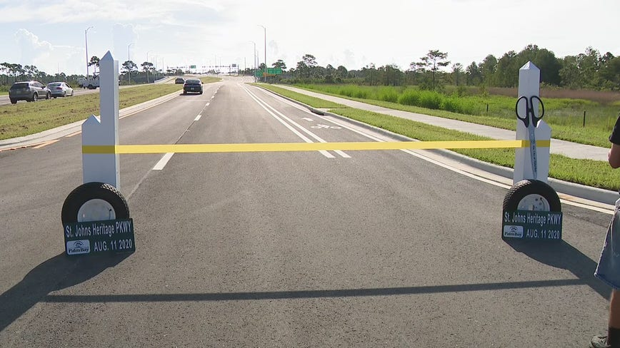 Bridge to Nowhere: Palm Bay parkway to open Tuesday after years of delays, massive funding