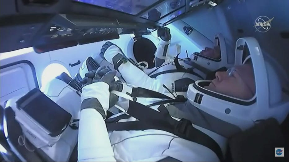 - bob behnken and doug hurley - Kennedy Space Center Visitor Complex to display suits of SpaceX's first NASA astronauts