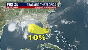 Disturbance moving across Central Florida causes coastal flooding, strong winds