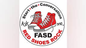 Wear RED SHOES Wednesday September 9 for FASD awareness
