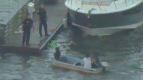 Florida man arrested after shining laser at sheriff chopper pilot