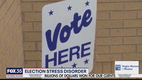Controlling election stress disorder