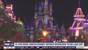 6,700 non-union Disney World worker to be laid off