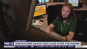 Dispatcher saves two lives over the phone