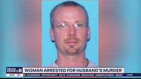 Woman accused of murdering husband
