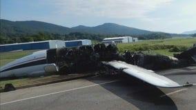 New pics released of Dale Earnhardt Jr's plane crash last year