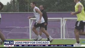 Lions prep for Chicago