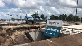 Brightline using new technology to build train tunnels in Central Florida