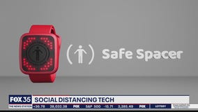 Technology alerts user to social distancing violations