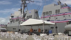 US Navy destroyer to be commissioned