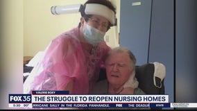 Struggle to reopen nursing homes