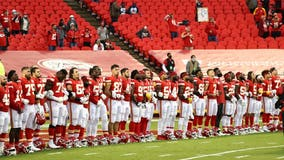 NFL fans appear to boo Chiefs, Texans players during moment of unity before coin toss
