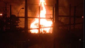Investigation underway after gas line ruptures and causes massive fire in Seminole County