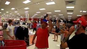 Anti-mask protesters fined after marching through Florida Target