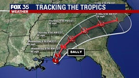 Hurricane Sally strengthens as it approaches Gulf Coast