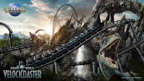 Universal Orlando announces opening date for Jurassic World VelociCoaster