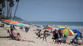 Lather on the sunscreen! Near-record heat possible this weekend