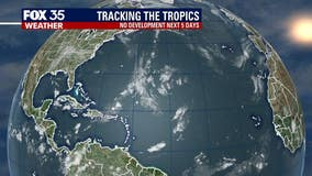 No tropical development expected in the next 5 days, NHC says
