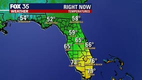 Cool mornings, mild afternoons for Central Florida