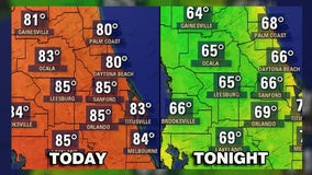 First day of Fall brings 'cooler' temperatures to Central Florida