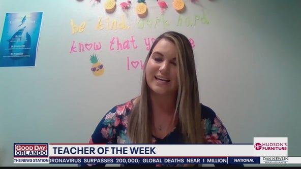 Teacher of the Week: Leacy Shaffer