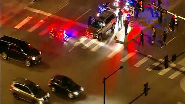 Denver police detain driver after vehicle plows into Breonna Taylor protesters