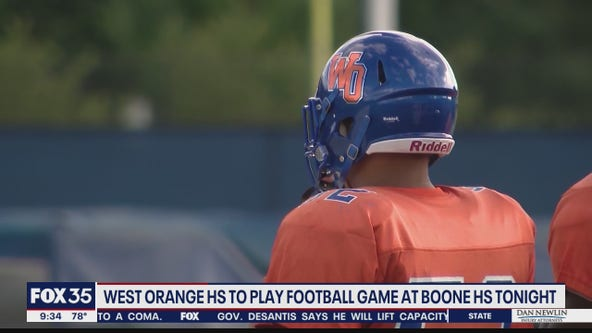 West Orange H.S. to play football game at Boone due to COVID-19 cases