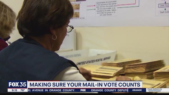 Making sure your mail-in vote counts
