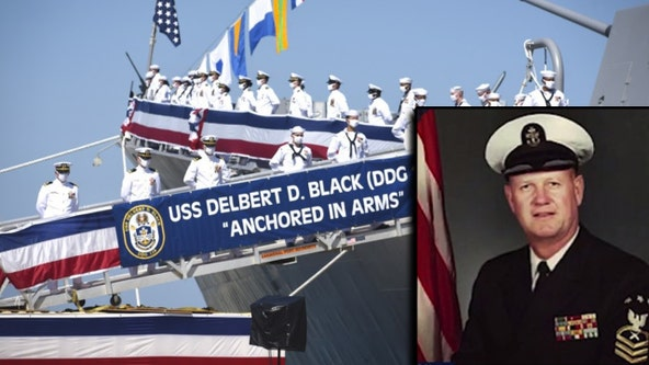U.S. Navy destroyer named after Florida sailor joins fleet