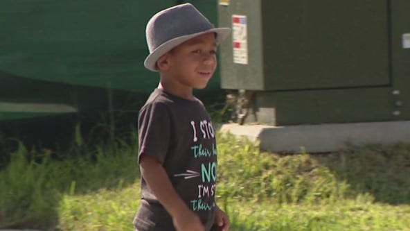Florida family throws special adoption ceremony for 4-year-old boy
