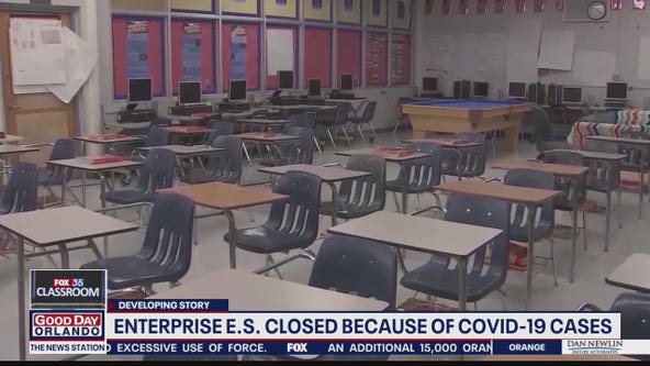 Enterprise Elementary School closed because of COVID-19 cases