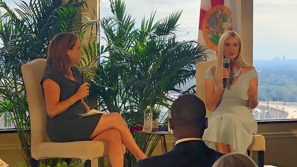 Ivanka Trump visited Orlando on Wednesday, talked with voters