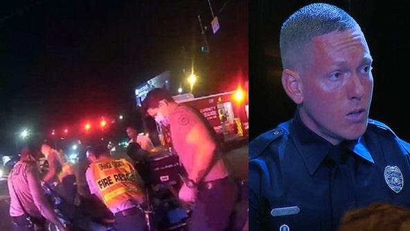 Orlando police officer receives award for saving toddler's life
