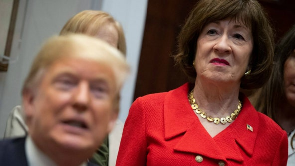 Republican Susan Collins says she opposes voting on SCOTUS nominee before election