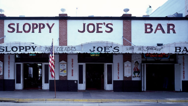 Sloppy Joe's, Ernest Hemingway favorite haunt in Key West, Florida, has reopened after closing during the coronairus pandemic.
