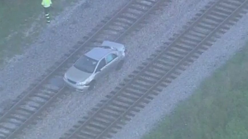 Passengers taken off SunRail train after incident with vehicle