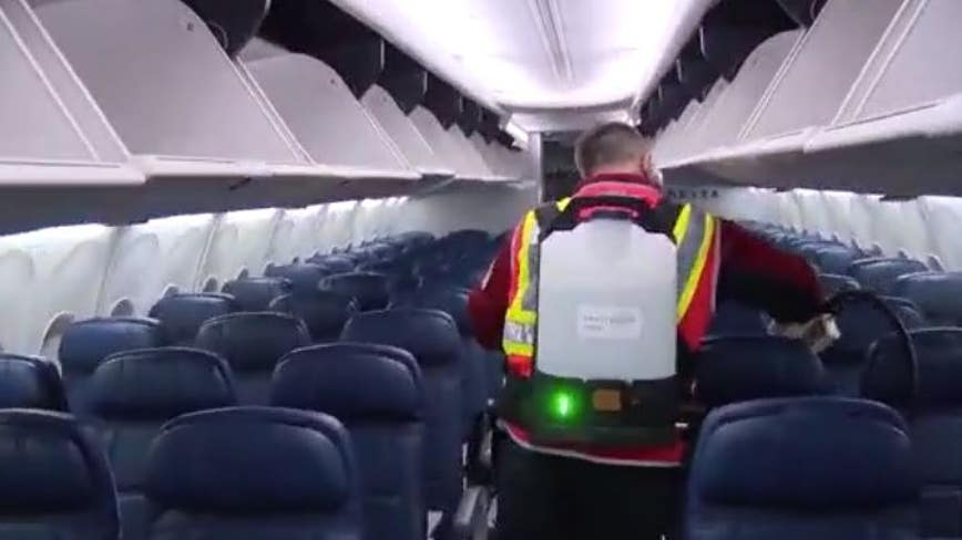 Delta gives behind-the-scenes look at COVID-19 cleaning procedures
