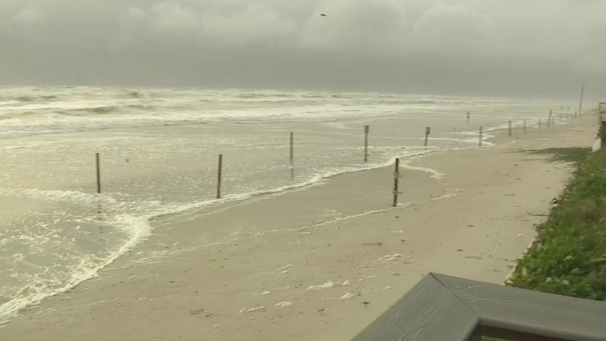 Beach patrol advise caution as strong winds, rough surf batter Central Florida coast