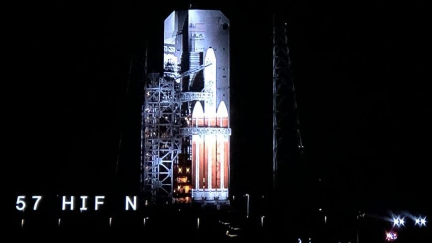 ULA now targeting Wednesday evening for Delta IV Heavy rocket launch