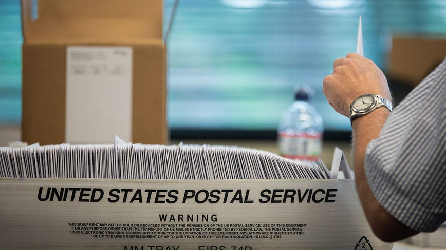 Millions of vote-by-mail ballots could go out on Thursday
