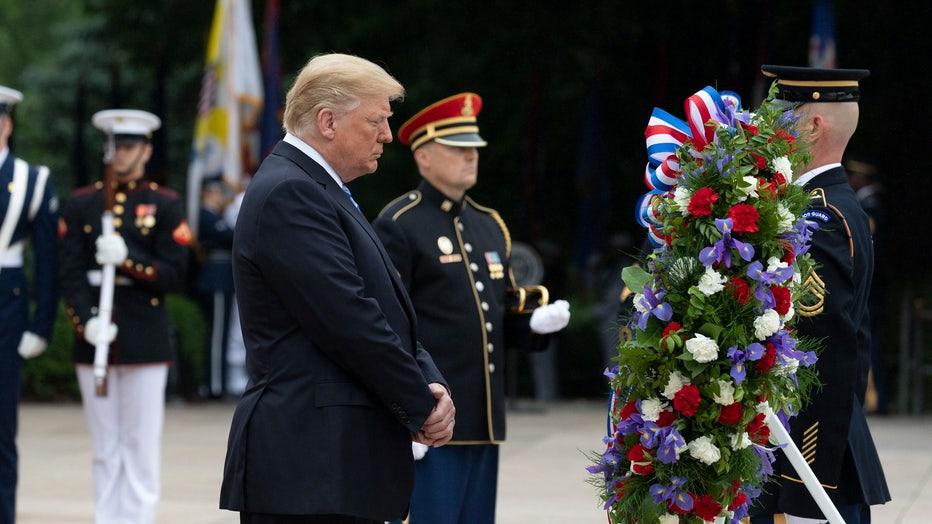 trump memorial day 2018 white house andrea hanks